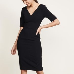 Black Halo Jeanette Sheath Dress
